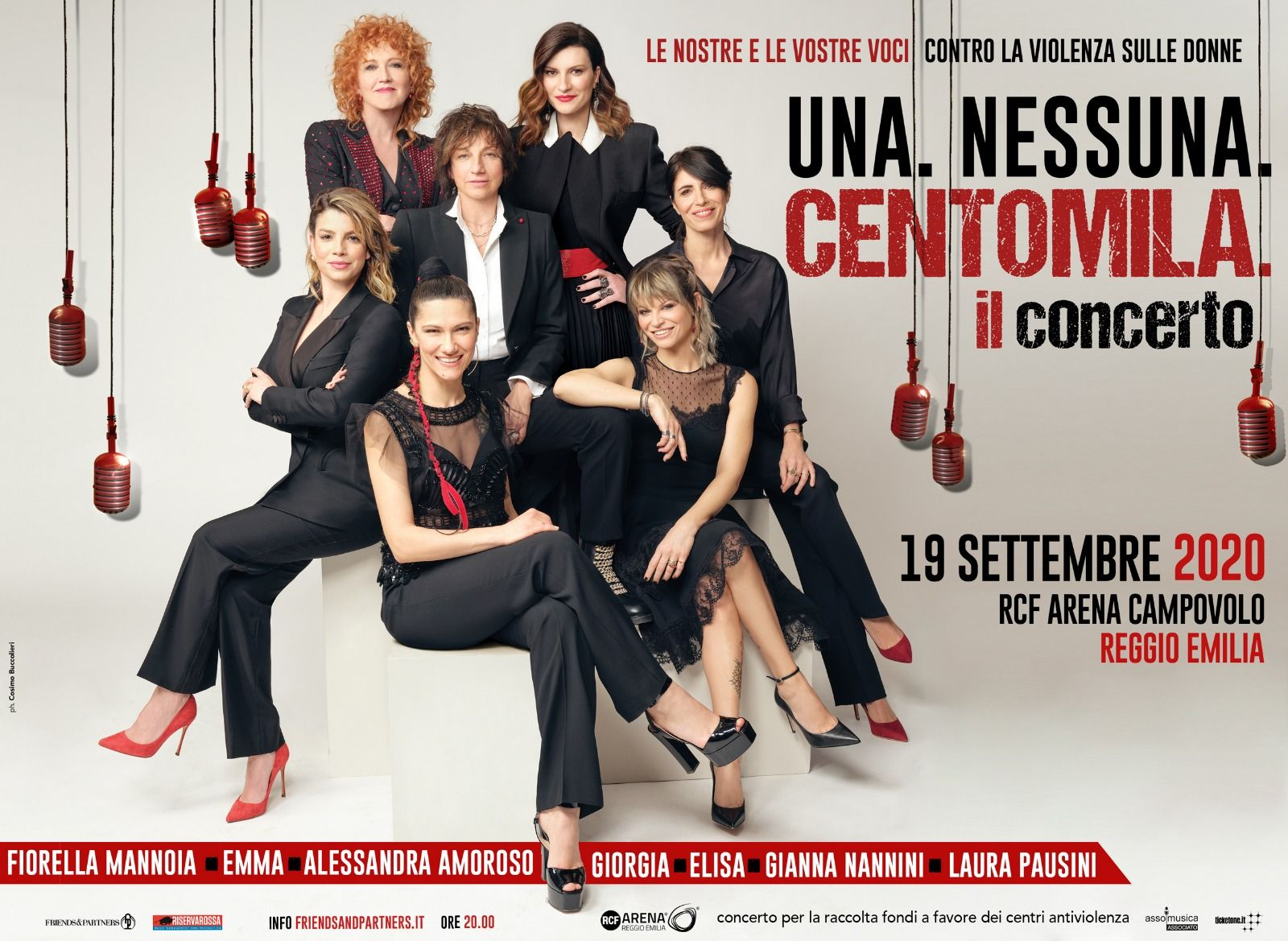 Una. Nessuna. Centomila. Il Concerto: more than 85.000 tickets sold in one month