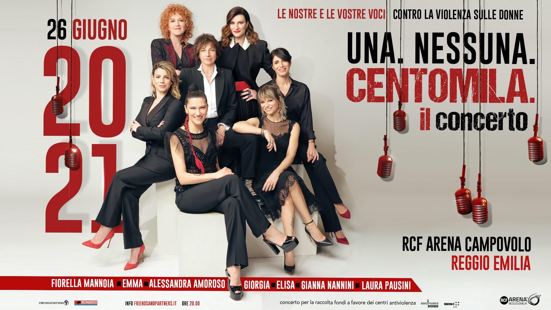 Una. Nessuna. Centomila. The Concert: postponed to June 26, 2021