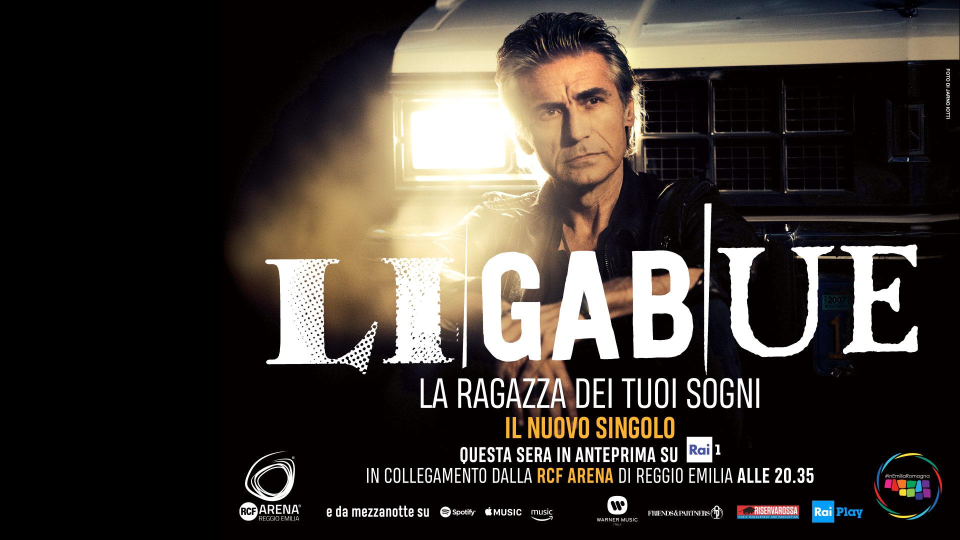 Ligabue: 10 settembre anteprima live su RAI1 dalla RCF Arena